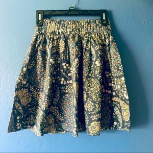 ⚡️H&M Floral Paisley A-line Flared Skirt XS⚡️3/$20